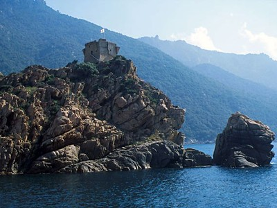 Korsika: poznávací zájezd cyklistika