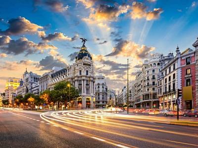 Velikonoce Madrid