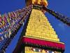 <p>Nepál - Káthmándú - posvátná stupa Swayambhunath</p>