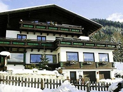 Kaprun, Pension Austria, zima