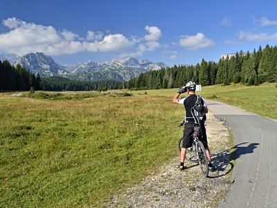 Černá Hora na kole