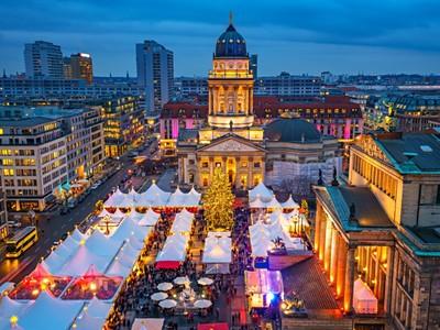 Advent v Německu: Berlín, Drážďany, Lipsko
