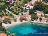 Apartmány Antun - letecký pohled, jižní zátoka ostrova Hvar, Chorvatsko