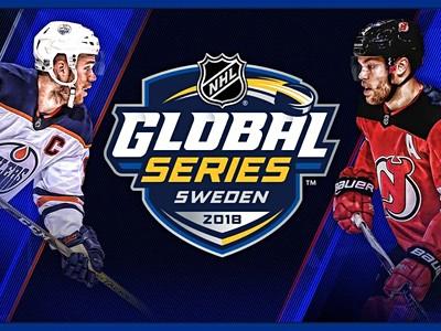 Nhl Global Series: Edmonton Oilers - New Jersey Devils