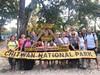Klienti v národním parku Čitvan (Indie, Anna Hübnerová)