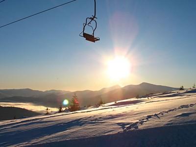 Zakarpatská Ukrajina v zimě