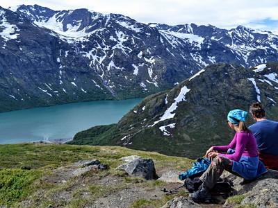 Norské hory a krásy přírody - letecky