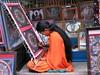 Malování thangk v Bhakthapuru