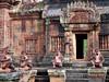 Růžový chrám Banteay Srei