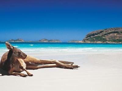 Austrálie západní pobřeží