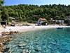 Pohled na pláž a okolí