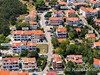 Apartmány Jadranka - letecký pohled, Baška, ostrov Krk, Chorvatsko