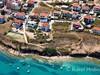Apartmány Milica - letecký pohled, Pag - Vodice, ostrov Pag, Chorvatsko