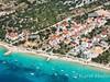 Apartmány Katarina - letecký pohled, Mandre, ostrov Pag, Chorvatsko