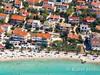 Apartmány Barica, letecký pohled, Povljana, ostrov Pag, Chorvatsko