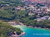 Apartmány Jelsa 11 - letecký pohled, Jelsa, ostrov Hvar, Chorvatsko
