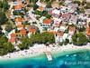 Apartmány Luna II - letecký pohled, Živogošće - Mala Duba, Makarská riviéra, Chorvatsko