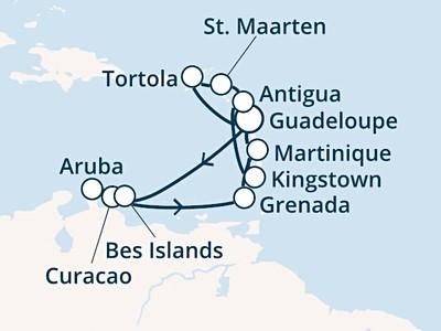Costa Fascinosa - Antily, Panenské ostrovy (pointe-a-Pitre)