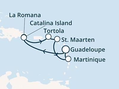 Costa Fortuna - Antily, Dominikán.rep., Panenské ostrovy (Point...