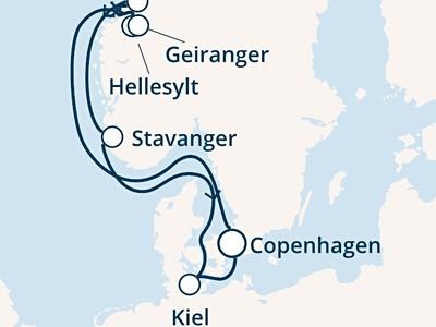 Costa Diadema - Dánsko, Norsko, Německo (Kodaň)