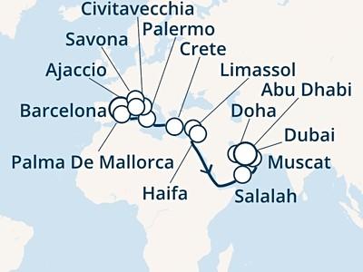 Costa Smeralda - Španělsko, Baleáry, Itálie, Korsika, Řecko, Ky...