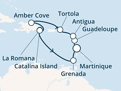 Costa Fortuna - Antily, Panenské ostrovy, Dominikán.rep. (Fort...