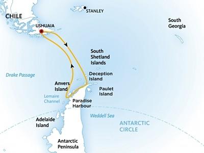 Výprava na Antarktidu: Klasické dobrodružství na lodi Ocean Diamond