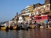 <p>Indie - posvátné město hinduismu Varanásí</p>