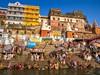 <p>Indie - Varanásí - život na ghátech</p>
