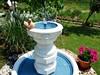 Fontánka v zahradě