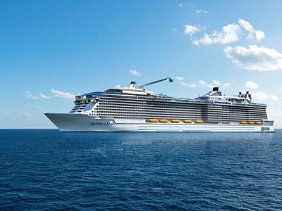 Anthem of the Seas - Velká Británie, Portugalsko, Bermudy, Usa...