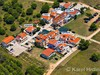 Apartmány Cimet - letecký pohled, Privlaka, Zadarská riviéra, Chorvatsko
