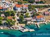 Apartmán Lovor - letecký pohled, Stará Novalja, ostrov Pag, Chorvatsko