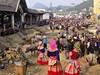 Bac Ha, nedělní trh
