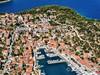 Apartmány Šanto - letecký pohled, Sali, ostrov Dugi Otok, Chorvatsko