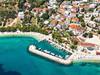 Apartmány Olja - letecký pohled, Živogošće - Blato, Makarská riviéra, Chorvatsko