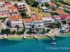 Apartmány Ljubo - letecký pohled, Metajna, ostrov Pag, Chorvatsko
