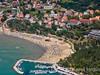 Apartmány Mimoza - letecký pohled, Lopar, ostrov Rab, Chorvatsko