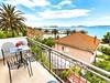 Apartmány Vanesa - výhled na moře z balkónu u apartmánu A3, Orebić, poloostrov Pelješac, Chorvatsko