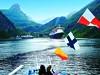 Norsko - až hluboko do fjordu Geiranger mohou vjíždět velké zaoceánské lodě