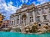 Nejznámější fontána di Trevi v Římě