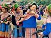 Bac Ha, Hmongové na nedělním trhu
